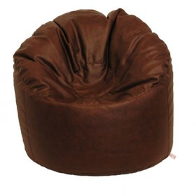 Bean Chair in Faux Leather