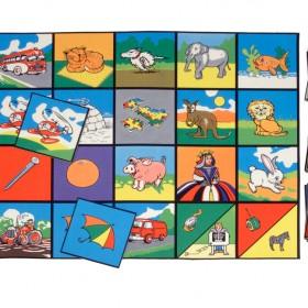Alphabet Picture Playmat & Picture Tiles