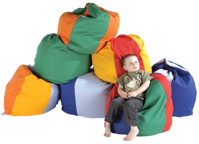 Giant Child Bean Bags In Cotton