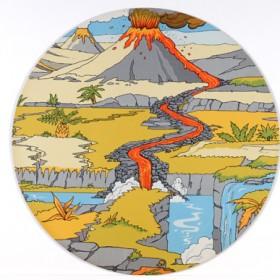 Jurassic Playmat