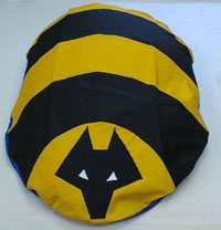 Wolves FC Giant Floor Cushion