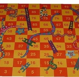 Supergiant Snakes and Ladders Play Mat