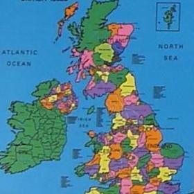 British/Europe/World Map Mat