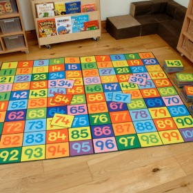 Super Giant Numbers Playmat 1-100 & Number Tiles