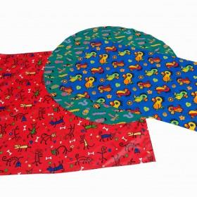 Pack of 3 Circular Acrylic Tablecloth