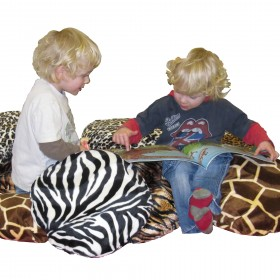 Set of 10 Big 5 Safari Scatter Cushions