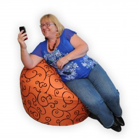 Hercules Adult Bean Bag in Sunbury Lugano