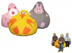 Animal Friend Character Bean Bags