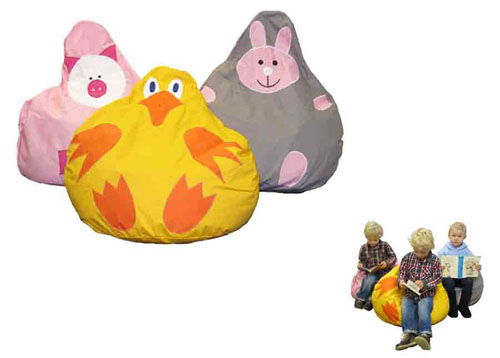 Animal Friend Character Bean Bags