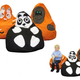 Endangered Species Character Bean Bags