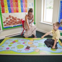 Alphabet Pond Learning & fitness mat