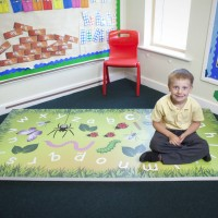 ABC Mini Beasts Learning and fitness mat