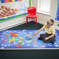 ABC Sea Life Learning and fitness mat