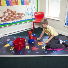 Space Explorer Numeracy Learning and fitness mat