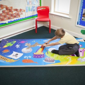 Story Land Learning and fitness mat