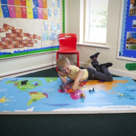 World Explorer Learning and fitness mat