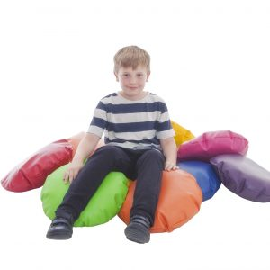 Child Faux Leather Scatter Cushions