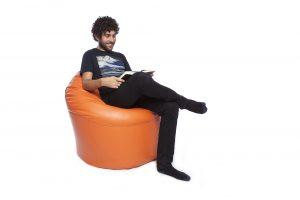 Bean Chair Faux Leather