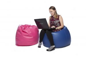 Teen Faux Leather Bean Bag