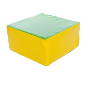 Childrens Cube Pouffe