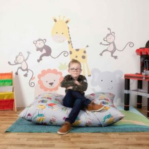 Child Educational Floor Cushion